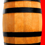 Wooden barrel — Stock Photo