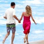 Couple on the beach — Stock Photo #12167737