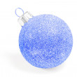 Christmas Snowflake Bauble — Stock Photo