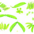 Foto Stock: Green peas