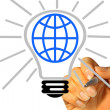 Foto de Stock  : Light Bulb