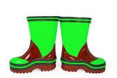 Children rubber boots — Stock Photo