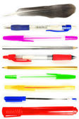 Different pen isolated — Stock Photo