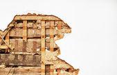 слоеное стены — Стоковое фото