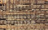 Potrhlý zeď — Stock fotografie