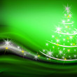 Christmas tree illustration — Stock fotografie