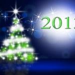 Ilustración del árbol de Navidad — Foto de Stock