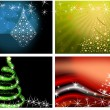 Stock Photo: Christmas tree illustration