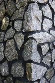 Telhas de pedra do fundo — Foto Stock