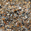 Background of sand on the sea shore — Stock Photo