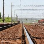 Railroad and Train — Stock Photo #20133065