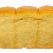 Loaf of bread isolated - Foto Stock