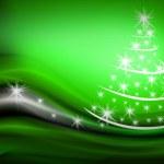 Beautiful Christmas tree illustration — Stock Photo