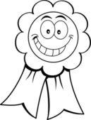Cartoon illustratie van een award lint. — Stockvector