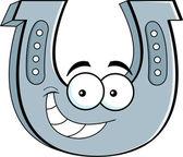 Cartoon horseshoe — Stock Vector
