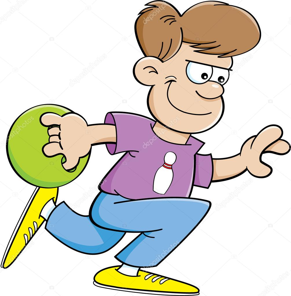 Gar on de dessin anim bowling image vectorielle kenbenner 25224447 - Bowling dessin ...
