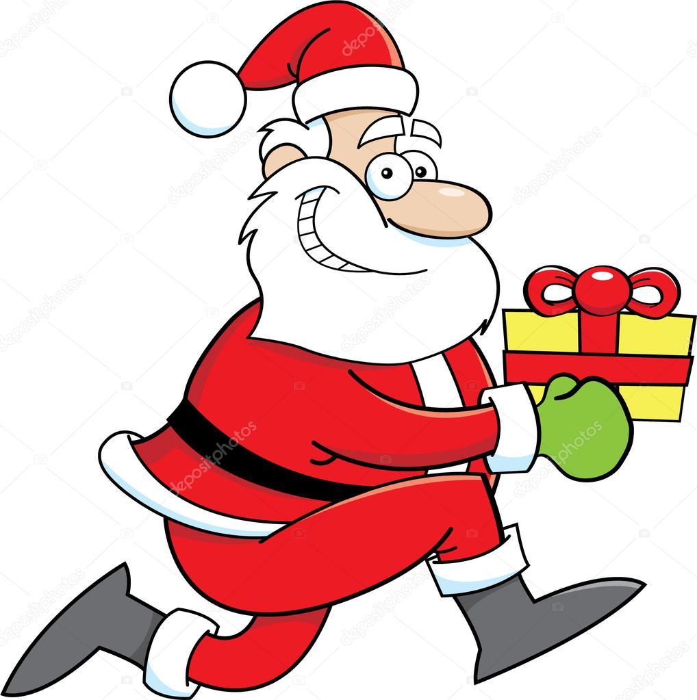 Afbeeldingsresultaat voor kerstman running