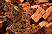Brick in disorder — Stock Photo