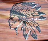 Inheemse logo — Stockfoto