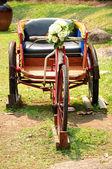 Tricycle rickshaws — Stock Photo