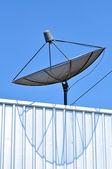 衛星放送受信アンテナ — ストック写真