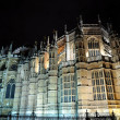 Night view of Westminster Abbey - Stock Photo