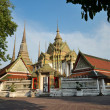 Stock Photo: Temple Wat Pho Bangkok Thailand