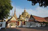 Temple Wat Pho Bangkok Thailand — Stock Photo