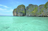 Tropical island Ko Phi Phi Lee — Stockfoto