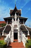 Wat chedi luang chiang mai templo tailândia — Foto Stock
