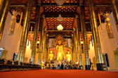 Wat Chedi Luang Chiang Mai Temple Thailand — Stock Photo