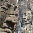 Face in bayon temple cambodia — Stock Photo #25535387
