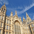 Wall of Parliament in London UK — Stock Photo
