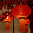 Stock Photo: Red lantern Chinese New Year