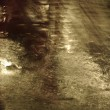 Stock Photo: Wet street in light background