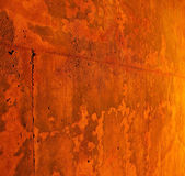 Rusty wall red background — Stock Photo