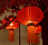 Red lantern Chinese New Year — Stock Photo