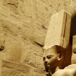 Ancient Egyptian sculpture — Stock Photo