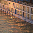 Sunbeam windows ship — Stockfoto