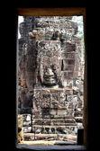Enfrentar no camboja de templo de bayon — Fotografia Stock