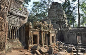 Ta Prohm ancient temple Angkor Wat Cambodia — Stock Photo
