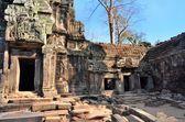 Ta Prohm ancient temple Angkor Wat Cambodia — Stock Photo