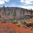Stock Photo: Sunset Crater Arizona