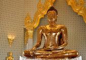 Ren gyllene buddha i wat traimit — Stockfoto