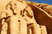 Temple of Abu Simbel Egypt. — Foto Stock