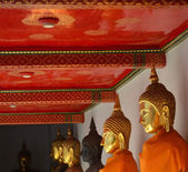 Wat pho temple buddha — Photo