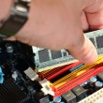 Installing RAM computer memory — Stock Photo #36520257