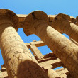 Stock Photo: Luxor pillar