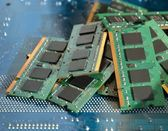 Computer memory details — Stock Photo
