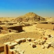 Stock Photo: Excavations near Dioser pyramid